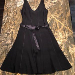Petite Sophisticate Black Dress